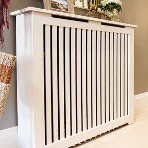 Manhattan Style Radiator Cover as seen in Long Island, New York