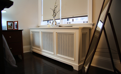 Back Bay Style Radiator Cover