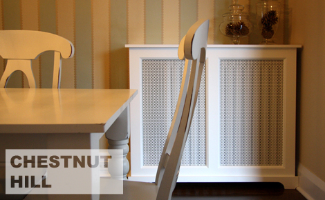 Chestnut Hill Style Radiator Cover